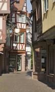 Stock Photo of wertheim old town at summer time