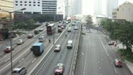 Traffic of HongKong timelapse Stock Footage