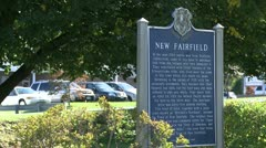 Signs of New Fairfield (1 of 8) Stock Footage