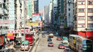 Traffic of HongKong timelapse Stock Footage