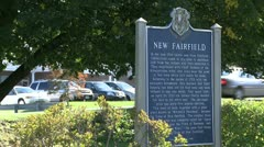 Signs of New Fairfield (4 of 8) - stock footage