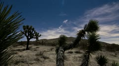 Moody western desert time lapse Stock Footage