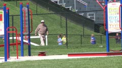 New fairfield school field (9 of 13) - stock footage