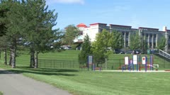 New fairfield school field (6 of 13) Stock Footage