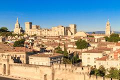 avignon in provence - stock photo
