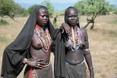 indigenous people - stock photo