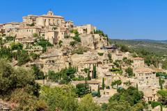 Stock Photo of gordes medieval village in southern france