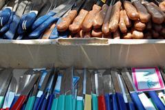 Stock Photo of cheap knives