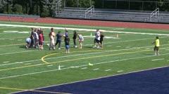 New fairfield school field (2 of 13) Stock Footage