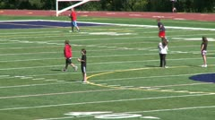 New fairfield school field (1 of 13) - stock footage
