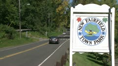 Signs of New Fairfield (3 of 8) - stock footage