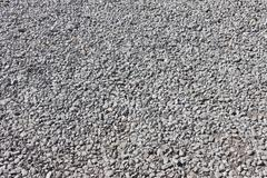 road stone gravel texture background - stock photo