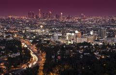 Stock Photo of Los Angeles, California.