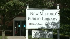 New Milford Public Library (1 of 3) Stock Footage