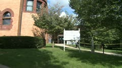 New Milford Public Library (3 of 3) Stock Footage
