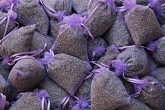 Lavender scented bags Stock Photos