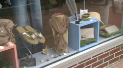 Window display (2 of 2) - stock footage