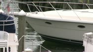 Stock Video Footage of Docked boats on the bay (1 of 5)
