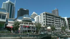 Auckland Viaduct 1 Stock Footage