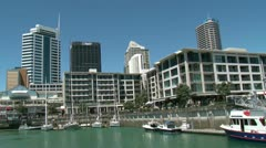 Stock Video Footage of Auckland Viaduct 2