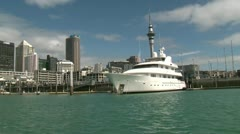 Auckland Viaduct 3 - stock footage