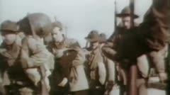 World War 2 - Walking Soldiers Arkistovideo
