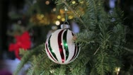 Stock Video Footage of Christmas Tree Bulb
