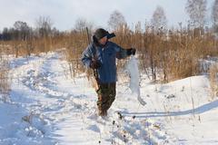 Stock Photo of the hunter