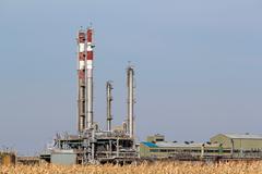Petrochemical plant.JPG Stock Photos