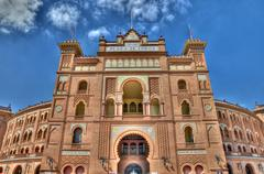 madrid, spain - september 30: plaza de toros de las ventas. it was inaugurate - stock photo