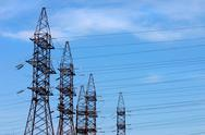 Stock Photo of transmission line