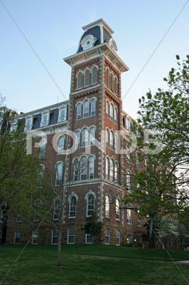 Stock photo of Building On Campus