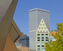 Denver Art Museum and Public Library Stock Photos