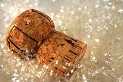 cork - stock photo