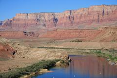 lees ferry, arizona - stock photo