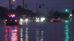 Flash Flood: Emergency Responders Stock Footage