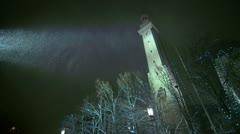 Cinematic Clocktower - stock footage