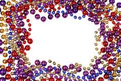 bead string border - stock photo