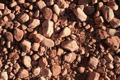 sandstone pebble background - stock photo