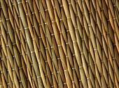 Stock Photo of straw mat texture