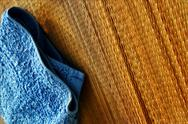 Stock Photo of spa towel and mat