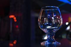 Glass stemware Stock Photos