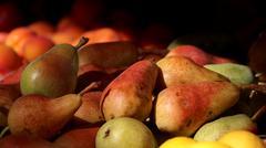 Beautiful pears - stock photo