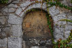 mural - stock photo