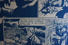 Dark vintage comic - stock photo