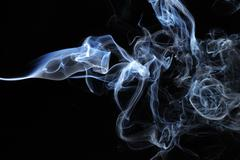 Blue Smoke4.JPG - stock photo