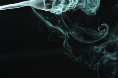 Green Smoke12.JPG - stock photo