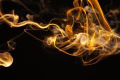 Yellow Smoke8.JPG - stock photo