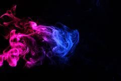 Magenta Smoke5.JPG - stock photo