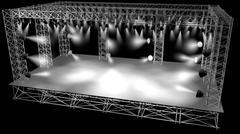 Concert Stage 3D Model - 3D model